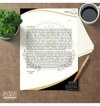 Avukat Antetli Kağıt P803