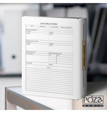 Avukat Büro Dosyası P621