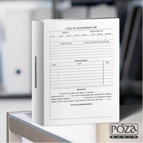 Avukat Büro Dosyası P608